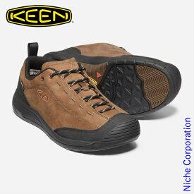 キーン ジャスパー ツー ウォータープルーフ メンズ ダークアースxブラック 1023869 防水スニーカー 靴