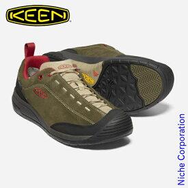 キーン ジャスパー ツー ウォータープルーフ メンズ ダークオリーブxサファリ 1023870 防水スニーカー 靴