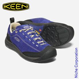 キーン ジャスパー ツー ウォータープルーフ メンズ ブルーデプスxサファリ 1023871 防水スニーカー 靴