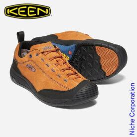 キーン ジャスパー ツー ウォータープルーフ メンズ パンプキンスパイスxブラック 1023872 防水スニーカー 靴