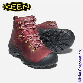 キーン ピレニーズ レディース チベットレッドxブラック 1023976 ハイキングシューズ ウィメンズ 靴 防水