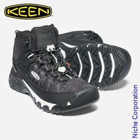 キーン ターギー EXP ミッド SP ブラック/ホワイト メンズ 1023477 トレッキングシューズ メンズ 防水 フジロック コラボ