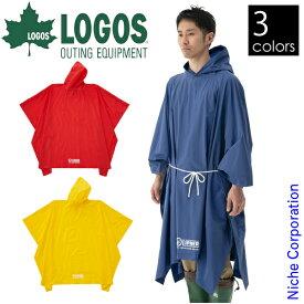 ロゴス LIPNER PVCポンチョ 23712 キャンプ用品 レインコート 雨合羽