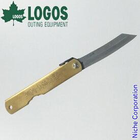ロゴス LOGOSx肥後守 ナイフ 青紙大 83005001 アウトドアナイフ 日本製 キャンプ用品 お1人様1点限り