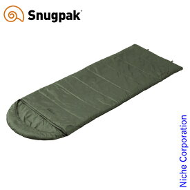 スナグパック ノーチラス スクエア ライトジップ オリーブ SP14646OL アウトドア シュラフ キャンプ 寝袋 Snugpak