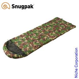 スナグパック ノーチラス スクエア ライトジップ DPMカモ SP14677DPM アウトドア シュラフ キャンプ 寝袋 Snugpak nocu