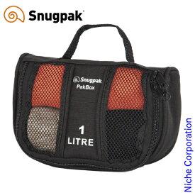 スナグパック パックボックス 1 ブラック SP0002BK-PA1 アウトドア ケース 収納 キャンプ Snugpak nocu