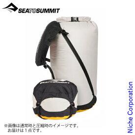シー トゥ サミット コンプレッション ドライサック XL ST83370001 登山 防水対策