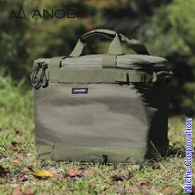 ANOBA(アノバ) マルチギアボックス L オリーブ AN021 バッグ