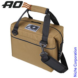 AOクーラーズ 12パック バリスティック ソフトクーラー AOBA12C-TN クーラーバッグ 11L キャンプ用品