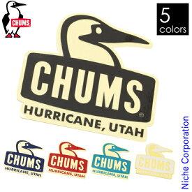 チャムス ステッカーブービーフェイス CH62-1124 シール ロゴ キャンプ用品