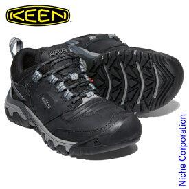 キーン リッジ フレックス WP ブラック/マグネット メンズ 1024916 トレッキングシューズ 登山