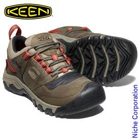 キーン リッジ フレックス WP ティンバーウルフ/ケチャップ メンズ 1024918 トレッキングシューズ 登山