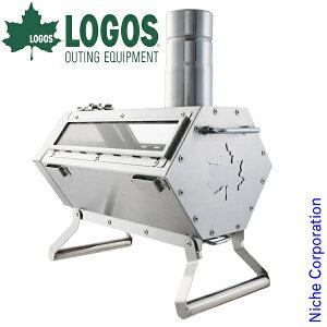 ロゴス 六角薪だんろストーブ 81064080 薪ストーブ 調理 小型 キャンプ用品