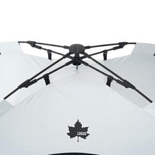 ロゴスソーラーブロックQ-TOPフルシェード-BA71805581テントサンシェードUVカット遮光キャンプ用品