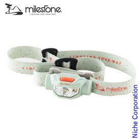 マイルストーン スタンダードモデル クール MS-A6 LED ヘッドランプ アウトドア