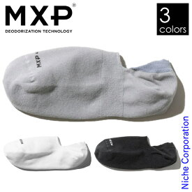 エムエックスピー デオドラント スニーカーソックス ユニセックス MS59302 靴下 消臭 くるぶし