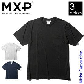 エムエックスピー ファインドライ ショートスリーブポケットクルー メンズ MX19301 クルーネック Tシャツ 胸ポケット
