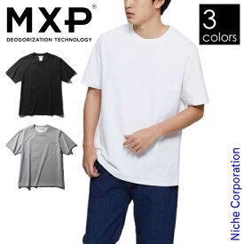 エムエックスピー ミディアムドライジャージ ショートスリーブクルー メンズ MX38301 クルーネック Tシャツ
