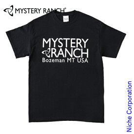 ミステリーランチ メンズ ヘリテージロゴ Tシャツ 19761428