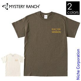 ミステリーランチ メンズ ビルトフォーザミッションV2 Tシャツ 19761429