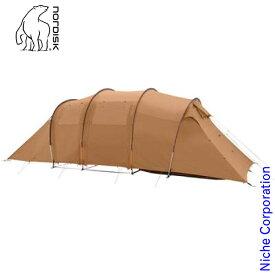 ノルディスク レイサー 6 PU Reisa 6 PU カシュー/ブラウン 122057 キャンプ テント 6人用
