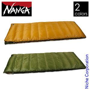 ナンガ ニッチオリジナル ダウンバッグ スクウェア 600STD NE21-600SQ シュラフ キャンプ 別注 NANGA 寝袋 スリーピングバッグ 寝具 封筒型 ダウンシュラフ アウトドア 連結可能