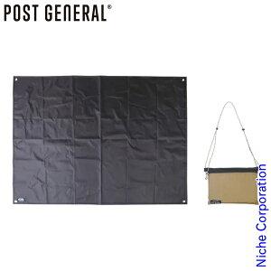 POST GENERAL(ポストジェネラル) グランドシート&サコッシュバッグ BExBK 982040033 アウトドア キャンプ