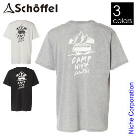 Schoffel(ショッフェル) リサイクルハーフスリーブTシャツ バス柄 8046145 ウェア Tシャツ 半袖