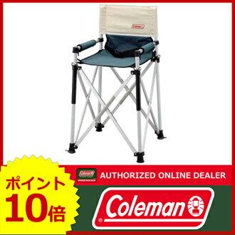 科尔曼(Coleman)小孩纤细船长椅子(绿色的/浅驼色)[170-7543][科尔曼椅子|户外椅子|科尔曼椅子|科尔曼椅子户外|海滩椅子海滩椅子|露营椅子][P10]
