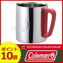 コールマン ダブルステンレスマグ300 (レッド) [ 170-9484 ] [ Coleman コールマン | マグカップ コップ ][P10]