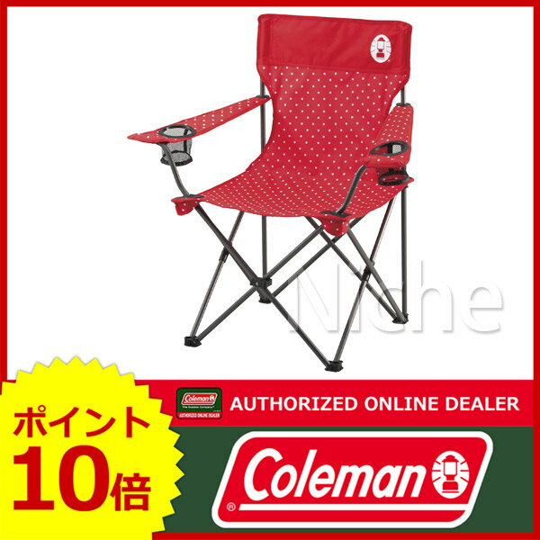 コールマン リゾートチェア (レッドドット) 2000026734 [P10] イス キャンプ用品