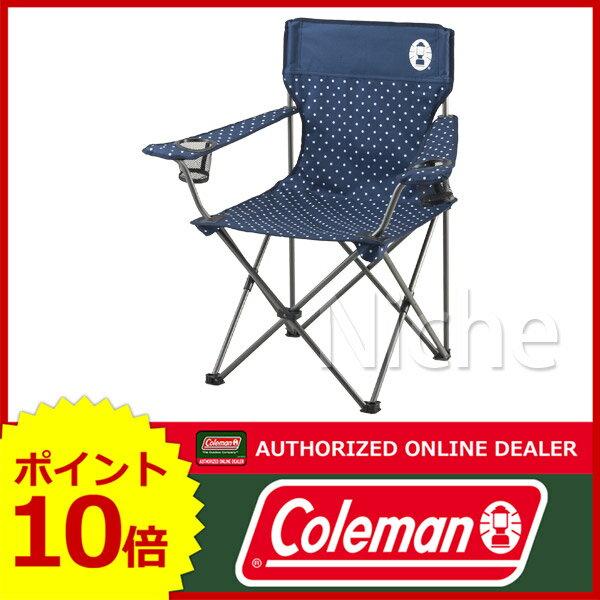 コールマン リゾートチェア (ネイビードット) 2000026736 [P10] イス キャンプ用品