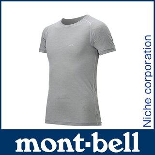 モンベルジオラインL.W.TシャツMen's#1107484