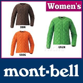 【枚数限定400円OFFクーポン配信中】モンベルmont-bellU.L.ダウンラウンドネックジャケットレディース#1101402グラスグリーンSサイズnocuレディースジャケット