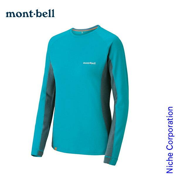 モンベル mont-bell メリノウールプラス ロングスリーブ アクションT Women's #1104975 nocu