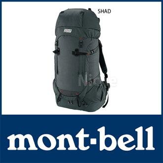 MONT BELL超級市場遠征包90#1223329[影子(SHAD)][ZERO POINT零點帆布背包背包帆布背包戶外|富士登山裝備|MONT BELL mont bell mont-bell]