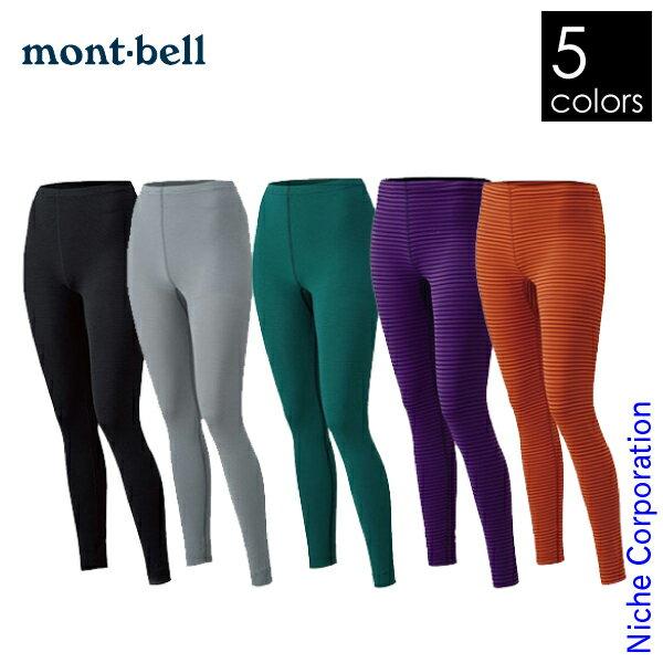 モンベル ライトトレールタイツ レディース #1107136 [ モンベル mont bell mont-bell | 山ガール 登山 タイツ ] womens 女性用