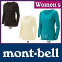 モンベル スーパーメリノウール L.W.ラウンドネックシャツ Women's #1107573