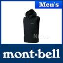 ◆5/25までクーポン配布中◆モンベル O.D.フードベスト Men's (ブラック) #1103255(BK)