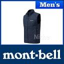 モンベル ウインドブラストベスト Men's (ネイビー) #1103266(NV)