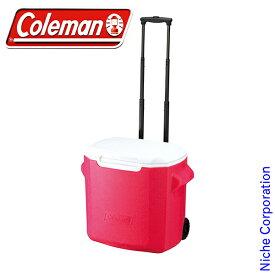 コールマン ホイールクーラー/28QT(ピンク) 2000010028 Coleman コールマン クーラーボックス クーラー ボックス キャンプ用品 キャスター