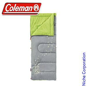 コールマン グローナイトキッズ/C7 (ライム) 2000022259 キャンプ用品 来客用 布団セット 新生活 寝袋 洗える