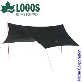 ロゴス タープ Black UV ヘキサタープ5750-AI アウトドア UVカット 遮光 キャンプ