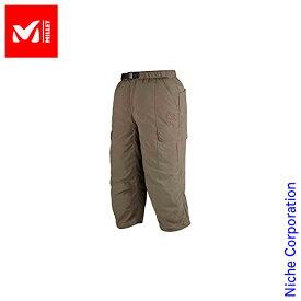 ミレー アルザス 3/4 パンツ (SOLID GREY) MIV01074-6562 メンズ パンツ 春夏