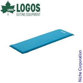 ロゴス マット 超厚 高弾力 セルフインフレートマット SOLO キャンプ テント 自動 膨らむ 1人