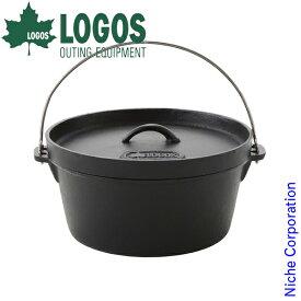 ロゴス SLダッチオーブン12inch・ディープ(バッグ付) 81062232 キャンプ用品