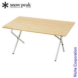 スノーピーク ワンアクションローテーブル竹 LV-100T スノーピーク テーブル アウトドア テーブル アウトドア 折りたたみ テーブル キャンプ テーブル 折りたたみ キャンプ用品 テーブル SNOW PEAK テーブル 折りたたみ