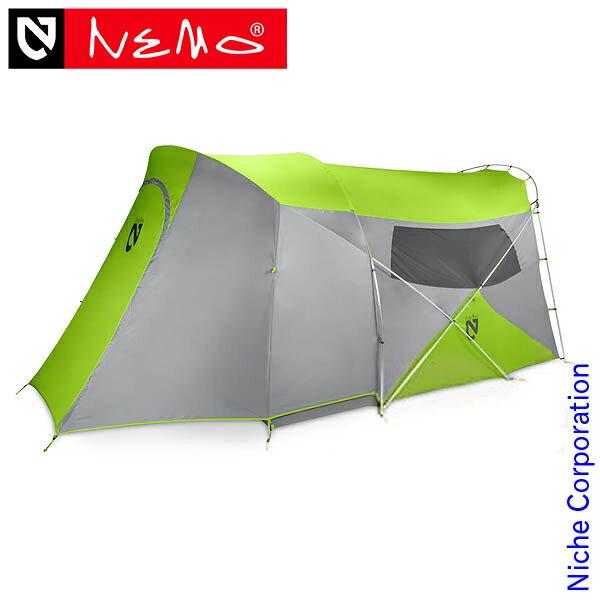 ニーモ ワゴントップ 6P グリーン NM-WGT-6P-GN nocu キャンプ 用品 テント タープ