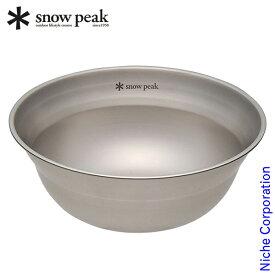 スノーピーク 食器 SPテーブルウェア ボール M TW-030 アウトドア ボウル キャンプ 調理器具 来客用 新生活 お1人様2点限り